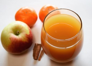 Warm Apple Cider - For Chilly Evenings